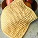 Sunny Days Crunch Stitch Dishcloth pattern