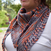 Cell Block Shawlette pattern