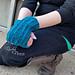 Structured Shadows Fingerless Gloves pattern