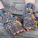 Color Me Crazy Fingerless Gloves pattern
