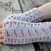 Sleeping Willow Fingerless Gloves pattern