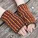 Pumpkin Spice Fingerless Gloves pattern