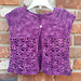 Orchid Cardigan for Toddlers pattern
