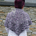 Petals on the Pavement Shawl pattern