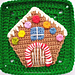 Gingerbread House Applique pattern