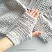 Star Stitch Fingerless Gloves pattern