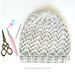 Wrapped Arrow Beanie pattern