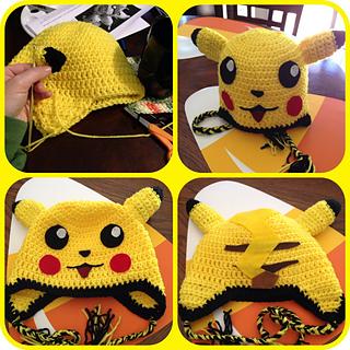 Pokemon Boys Crochet Hat Free Pattern | Pokemon Knitted Hat ... | 320x320