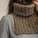 The Simplest Neck Warmer pattern