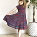 Ribbed Dress For Little Miss pattern