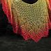 Strutting Peacock Lace Shawl pattern