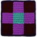 Square 2: Nine-Patch pattern