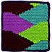 Square 7: Slopes pattern