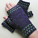 Studded Moss Stitch Gloves pattern