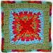 Twists & Turns Square pattern