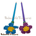 Forget-Me-Knot Flower Pencil Topper pattern