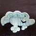 Let sleeping crocs lie, crocodile amigurumi toy pattern