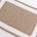 Beige and White Crochet Rug pattern