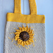 Sunflower Market Bag pattern