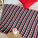 Christmas Stripes Blanket pattern