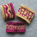 Battenberg Cuffs pattern