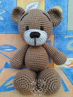 Free Amigurumi Bear Toy Softies Crochet Patterns | 320x240