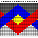 Wesley Crusher Sweater Chart pattern