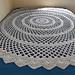 Lacy Round Blanket pattern