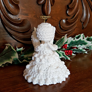 Peace on Earth Christmas Angel Free Crochet Pattern by Oombawka Design Crochet Part of the #12WeeksofChristmasCAL