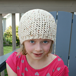 The Simple Cotton Cap - Free Crochet Pattern - Oombawka Design Crochet
