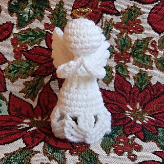 Charity Christmas Crochet Angel Ornament