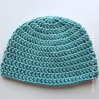 Seamless Double Crochet Hat Pattern - Free Pattern from Rhondda at Oombawka Design Crochet