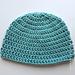 Seamless Double Crochet Hat pattern