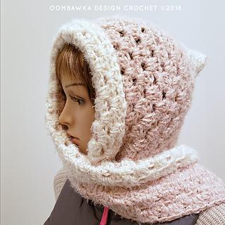 Easy Hooded Scarf Pattern. Free Crochet Pattern from Rhondda of Oombawka Design Crochet. #scarfofthemonthclub2018 November.