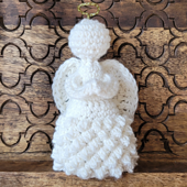 Temperance Crochet Angel Pattern - Rhondda Mol - Oombawka Design Crochet