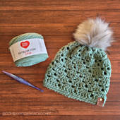 2021 Here We Go Again Hat Pattern - Rhondda Mol - Oombawka Design Crochet #hatofthemonth