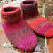 Cabin Cozies Slipper Socks pattern
