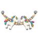 Unicorn pram chain pattern