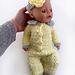 Sweet lemon baby dolls onesie pattern