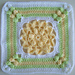 Blooming Beauty Afghan Square pattern