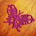Fancy Thread Butterfly pattern