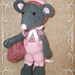 Amigurumi mouse Goodnight pattern
