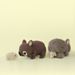 Common Wombat and Joey pattern