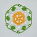 Motif Blooming Lily pattern