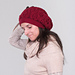 Dancing Trees Reversible Slouchy Hat pattern