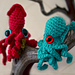 Baby Octopus and Squid pattern