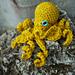 Realistic Crochet Octopus pattern