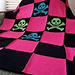 Pretty Punk Blanket pattern