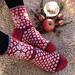 Winter Stars Socks pattern