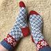 Vårvinter Socks pattern